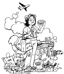 Tuuli Hypén on turkulainen sarjakuvantekijä ja kuvittaja, jonka tunnetuin sarjakuva on citykettu Nanna. Nanna on kettu, joka muuttaa pystymetsästä kaupunkiin ihmettelemään ihmisten kirjavaa elämää.