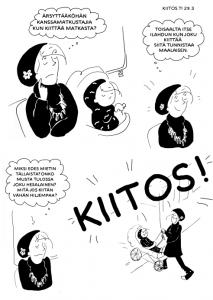 Olen siis sarjakuvapiirtäjä ja tehnyt sarjakuvia mm. Etelä-Suomen Sanomiin sekä olen toiminut Sarjakuvataiteen läänintaitelijana.