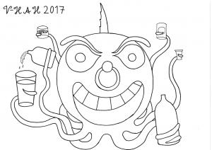 Mä olen Vesa-Heikki Hietanen ja duunaan Kuplivaa elämää-nimistä strippisarjakuvaa, jossa vedenpinnan alla on aina bileet! Olen tehnyt sarjakuvaani täydellä intohimolla jo yli kuusi vuotta. Sarjakuvan löytää osoitteesta https://www.facebook.com/kuplivaaelamaa/