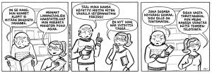 Lappi & Lappi eli Katariina ja Ilkka Lappi ovat turkulainen aviopari, jotka tekevät biisilainauksilla leikittelevää Mistä toi on? -strippisarjakuvaa. www.mistatoion.fi http://terasrautelan-kirjasto.sarjakuvablogit.com/ Instagram:@mistatoion