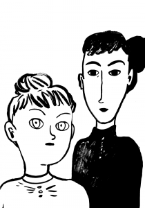 Olen Reetta Niemensivu, sarjakuvataiteilija ja kuvittaja. Tänä syksynä julkaistiin (Suuri Kurpitsa) uusin albumini Maalarisikot, joka kertoo Helene Schjerfbeckistä ja hänen taiteilijatovereistaan Maria Wiikistä, Helena Westermarckista ja Ada Thilénistä. Kädenjälkeäni löytää mm. Instagramista @reettabeetta. sähköpostini:reetta.niemensivu@gmail.com